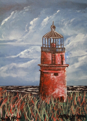 lighthouse oil paintings
