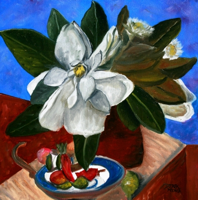 still life flower oil paintings